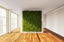 Vertical Garden In Modern Inte...