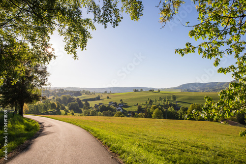 Canvas Prints Honey Eine Landschaft in der Rhön ( Deutschland )