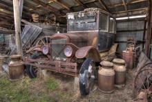 Old Model A Car