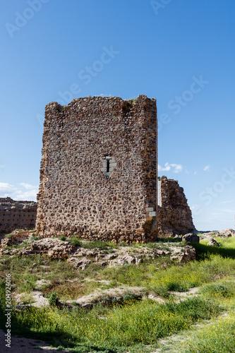 Papiers peints Cappuccino Castle of Almonacid Spain