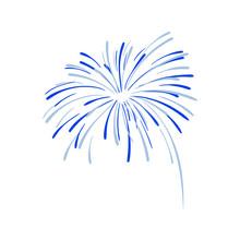 Hand Drawn Firework Explosion,...