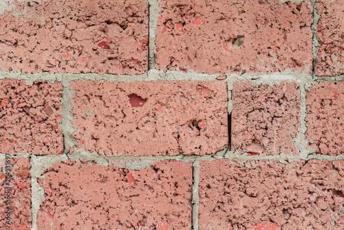 In de dag Stenen Brick texture with scratches and cracks