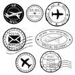 Postal elements. Postmarks, ink stamps