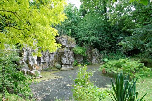 BOULOGNE (92) - Les jardins d'Albert Kahn Canvas Print