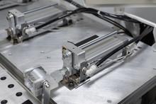 Pneumatic Cylinder Setup On Ma...