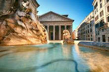 Fountain On Piazza Della Roton...