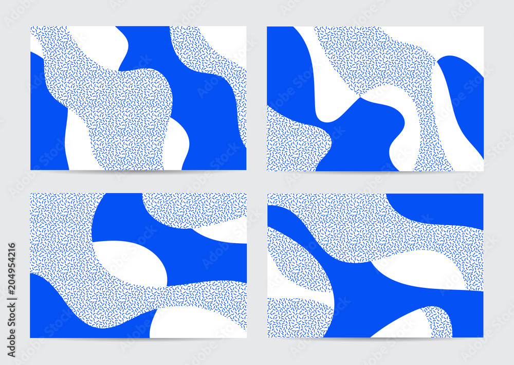 Fototapety, obrazy: Organic Abstract Background Collection