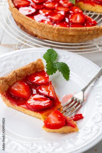 Papiers peints Pays d Afrique Home made delicious strawberry tart