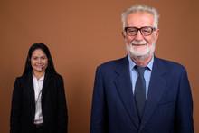 Mature Multi-ethnic Business C...