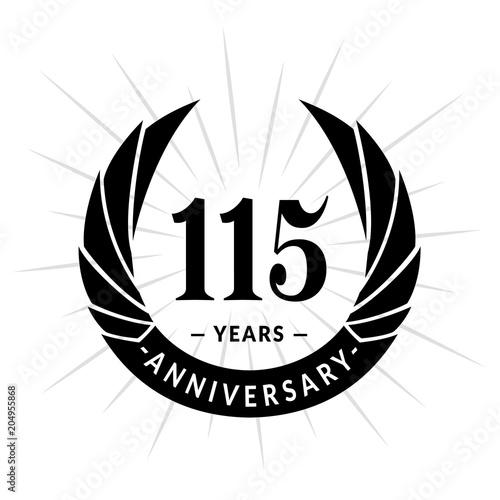 Poster  115 years anniversary