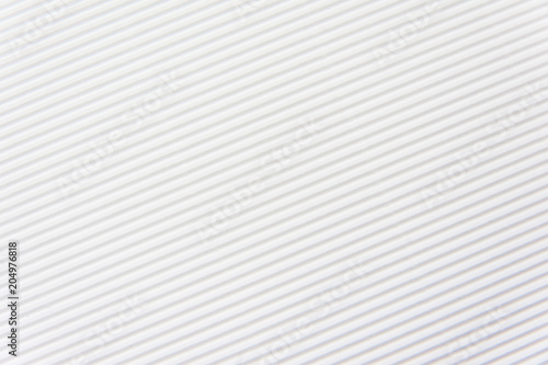 Foto  Texture of corrugated white color paper background