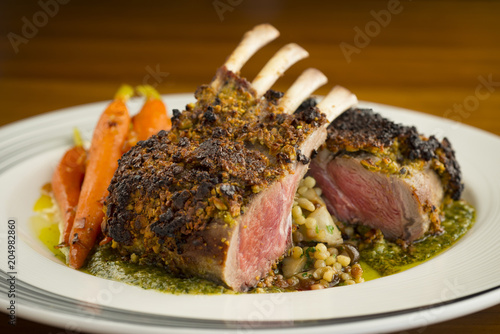 Rack of Lamb with nice crust