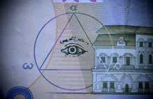 The Sign Of The Masons All-seeing Eye On Money