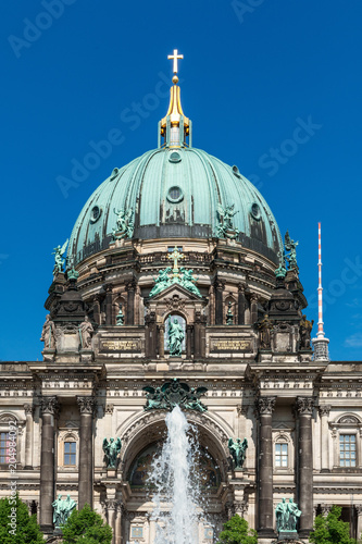 Foto op Aluminium Historisch geb. Detail of the Berlin Cathedral | 8217