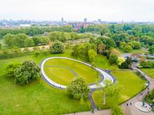 Aerial View Of The Princess Diana Memorial