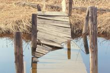 Broken Wooden Bridge