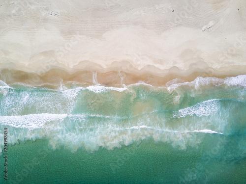 "Valokuva  ""Las Tortolas"" beach at Atacama Desert with the last rays coming from the Sun in"