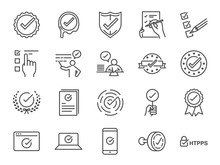 Check Mark Icon Set. Included ...