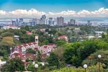 Cebu City View From Taoist Temple In Cebu City
