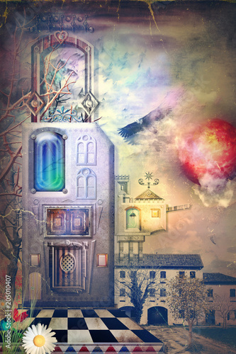 Poster Imagination Fairyland, city of dreams