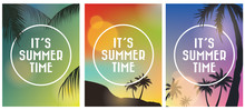 Summer Tropical Backgrounds Se...