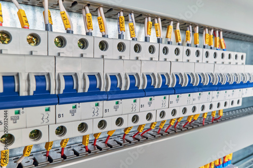 Range Of Electrical Modular Circuit Breakers In Electrical