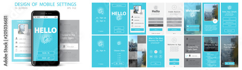 Photo User Interface, Mobile Application Development, UX, Graphical User Interface