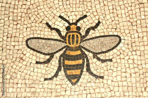 Photo Manchester bee mosaic