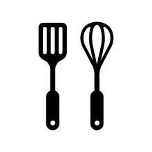 Kitchen Utensils Icon (spatula...