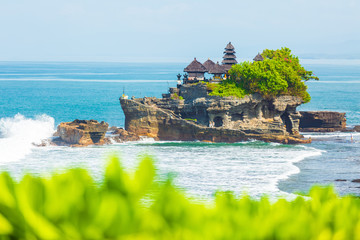 Tanah Lot - Temple in the Ocean. Bali, Indonesia