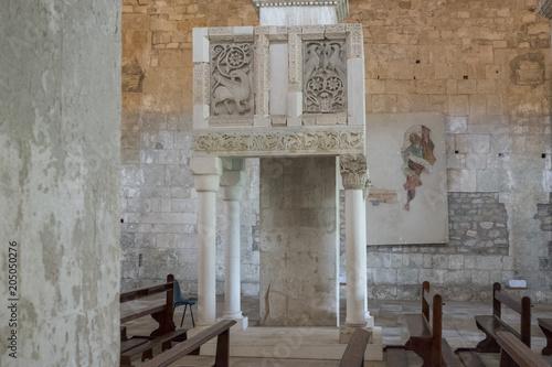 Abbazia di San Liberatore a Majella, Serramonacesca Canvas Print