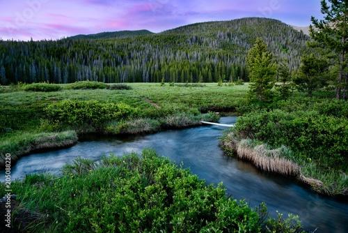 Devils Thumb area near Winter Park Colorado