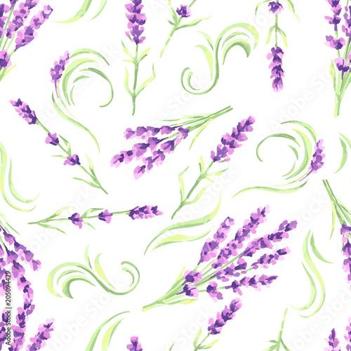 lawenda-kwitnie-bezszwowego-wzor-akwarela-naturalna-ilustracja-ziol-prowansji