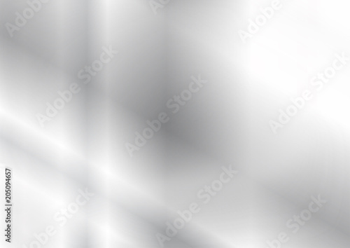 Fotografia, Obraz  Silver texture background, Vector illustration