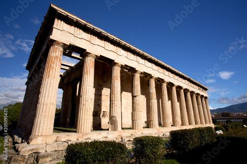 Photo  Temple of Hephaestus in Athens, Greece