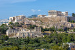Scenic view of the Acropolis of Athens, Greece