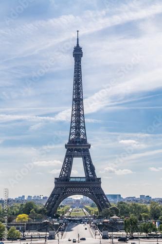 Papiers peints Paris Eiffel Tower in Paris
