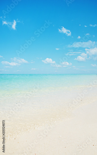 Foto op Plexiglas Artist KB Beautiful nautical landscape - asian beach