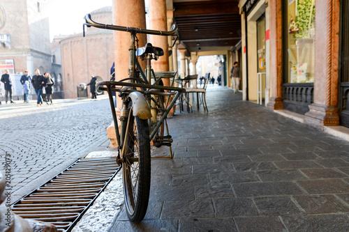 Keuken foto achterwand Fiets Bicicletta vintage