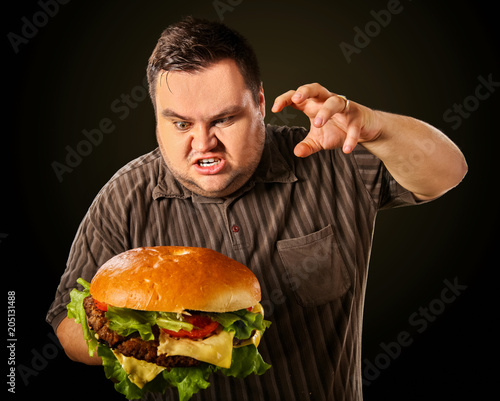 Real diet overweight people