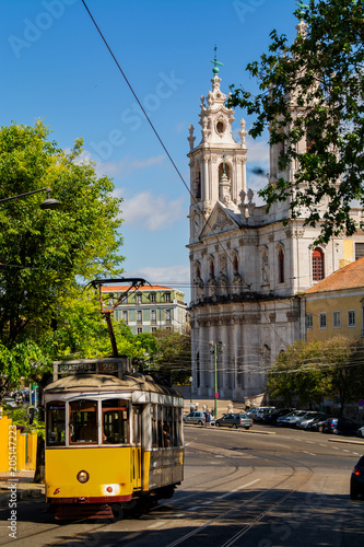 Estrela church in Lisbon