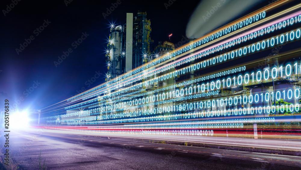 Fototapety, obrazy: Digital transformation concept.