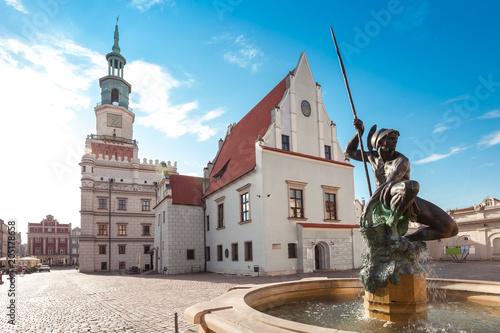 Obraz Miasto Poznań - fototapety do salonu