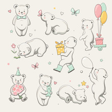 Cute Little Bear Collection. P...