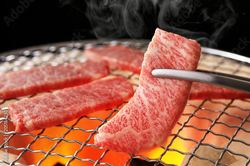 焼肉 Yakiniku. Is the Japanese version of Korean BBQ.