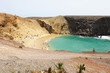 Stunning landscape with the famous Papagayo beach in Lanzarote, Canary Islands, Spain