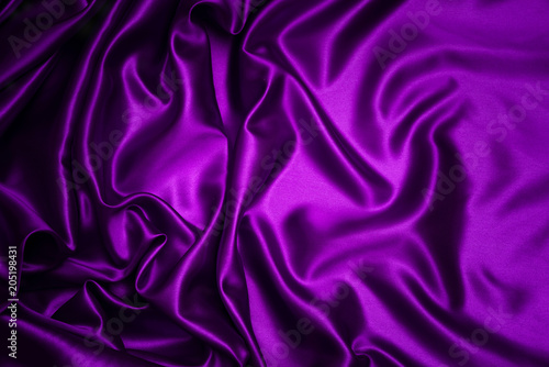 Tuinposter Stof Abstract purple drapery cloth, Pattern and detail grooved of violet fabric for background and abstract