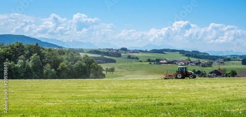 Landwirtschaftliches Österreich Fototapet