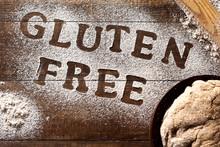 Text Gluten Free Written With ...
