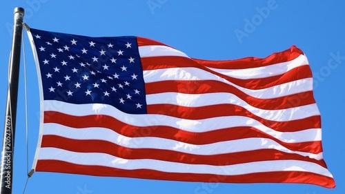 Amerikanische Fahne, Stars and Stripes